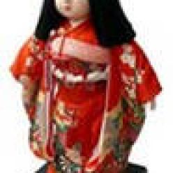 Праздничные японские куклы ICHIMATSU