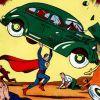 Первый комикс про Супермена